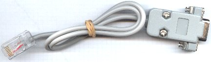 RJ45 to DB9 cable
