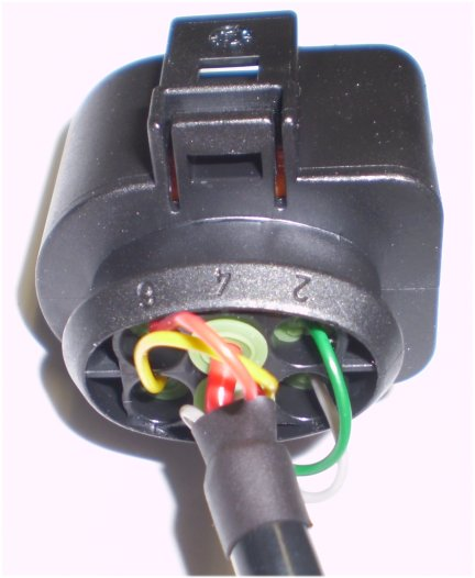 how to use hpm cable connectors