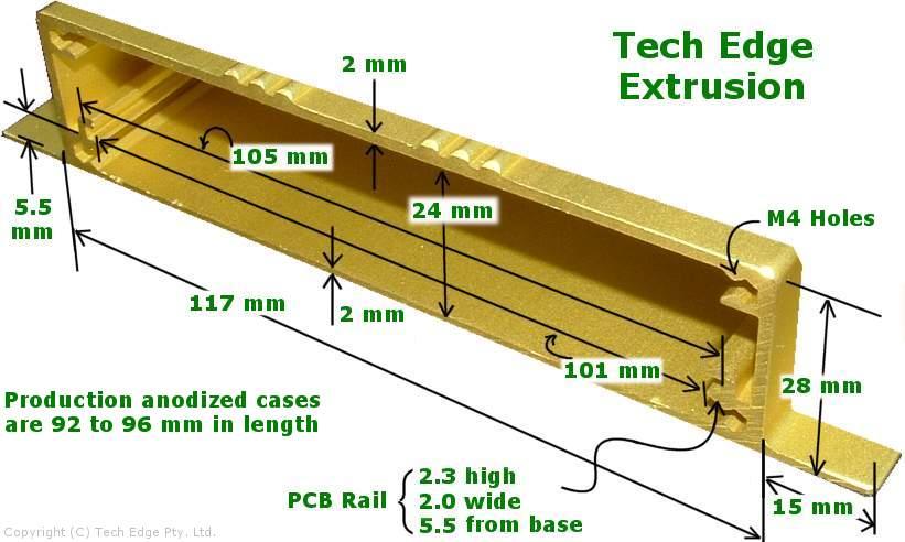 Aluminium Extrusion (Tech Edge)